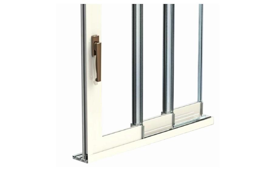 corredera de cristal correderas sistemas de aluminio para la construccion alumed