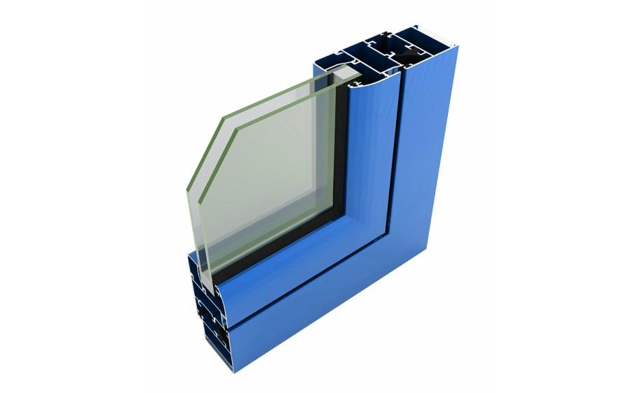 alumed gp 40 abisagradas sistemas de aluminio para la construccion alumed