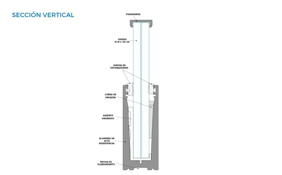 orizzonte-vista-tecnica-seccion-vertical-barandillas-sistemas-de-aluminio-para-la-construccion-alumed