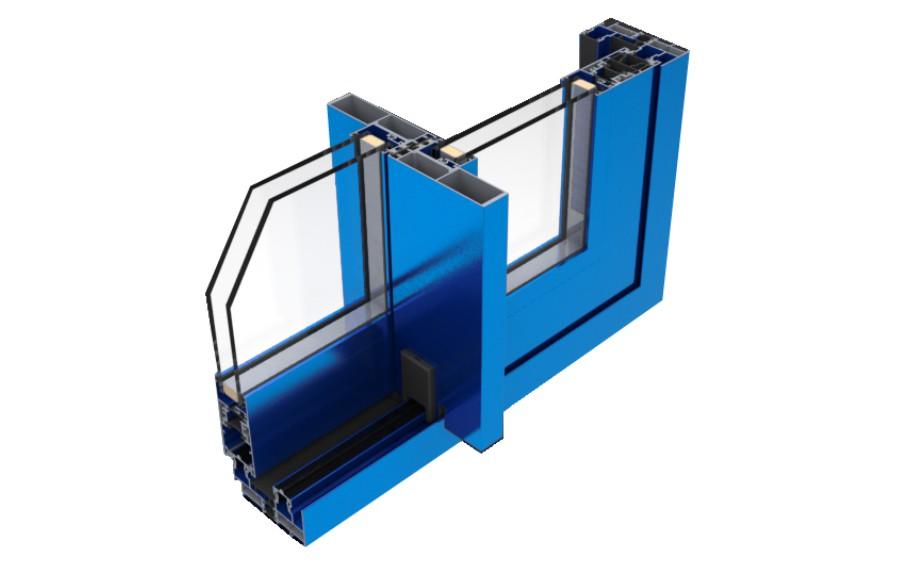 magna thermic correderas sistemas de aluminio para la construccion alumed