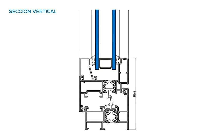 omega-thermic-vista-tecnica-seccion-vertical-abisagradas-sistemas-de-aluminio-para-la-construccion-alumed
