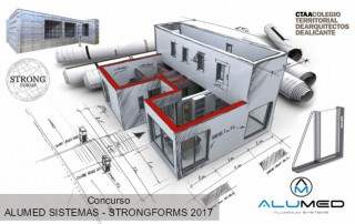 concurso arquitectura ctaa strong forms 2017 sistemas de aluminio para la construccion alumed alicante