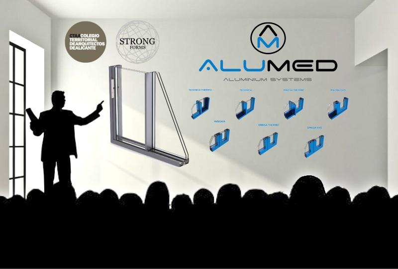 jornada tecnica CTAA 2016 sistemas de aluminio para la construccion alumed alicante