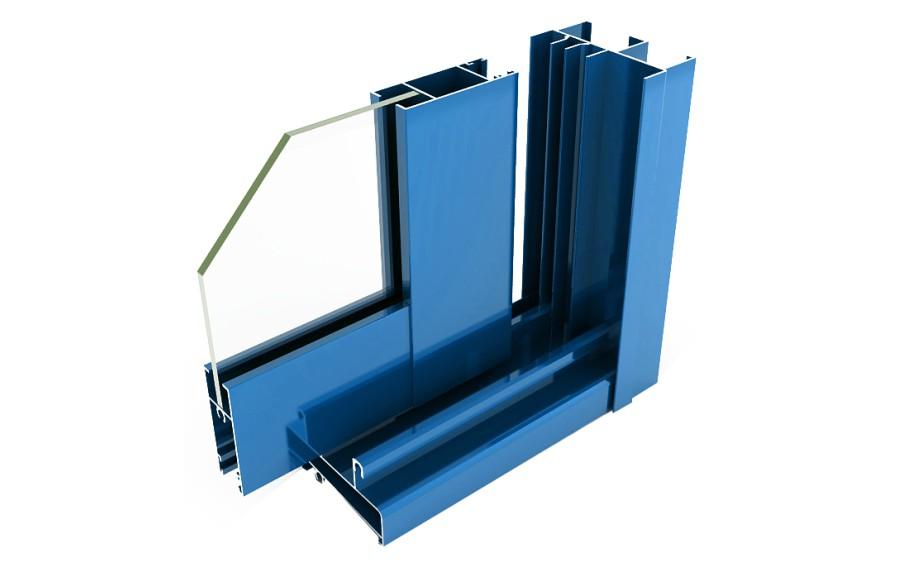 alumed 21 correderas sistemas de aluminio para la construccion