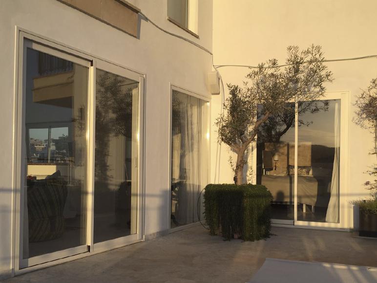 proyecto apartamento vivienda mallorca sistemas de aluminio para la construccion alumed 6