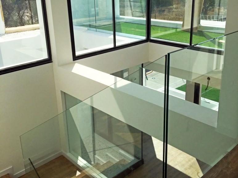 proyecto vivienda unifamiliar diseno moderno sistemas de aluminio para la construccion alumed alicante 3