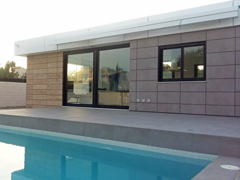 proyecto vivienda unifamiliar valencia sistemas de aluminio para la construccion alumed alicante 2