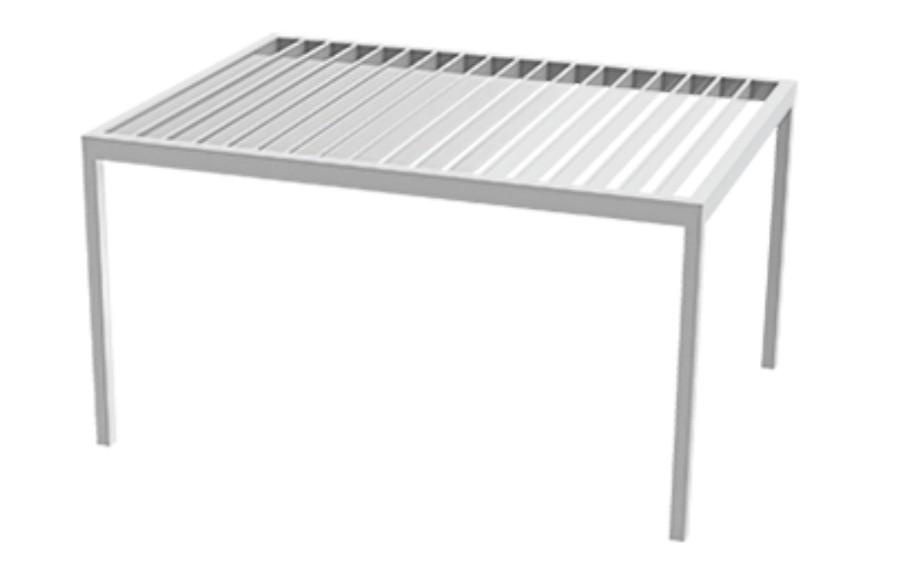Aluminio para pergolas simple prgolas cenadores cubiertas - Perfiles aluminio para pergolas ...