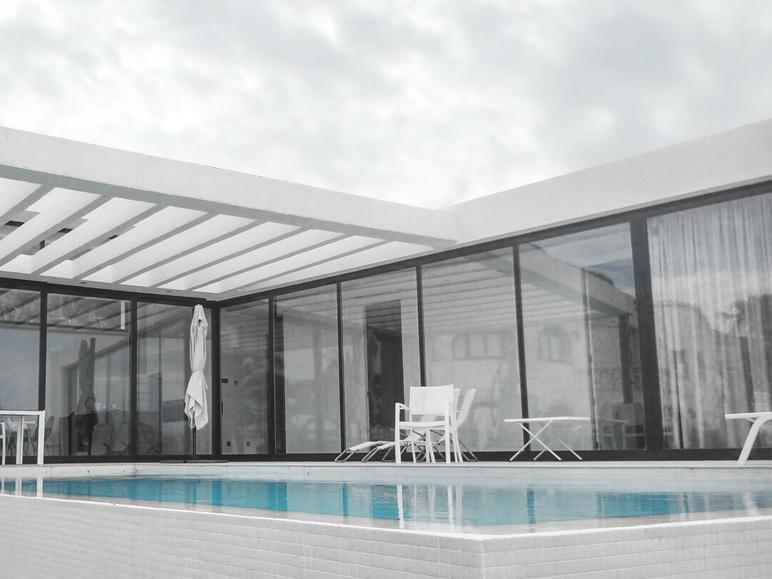 proyecto unifamiliar minimalista alicante sistemas de aluminio para la construccion alumed 3