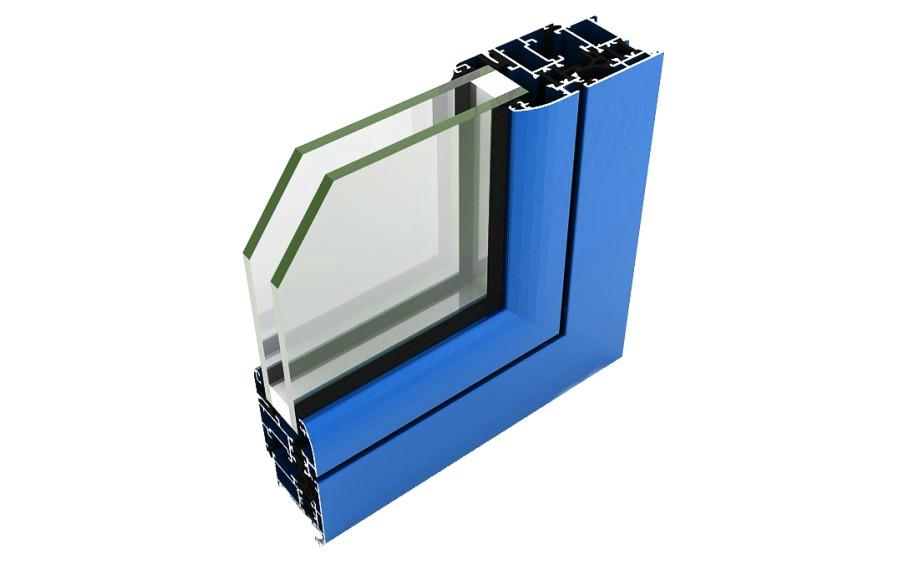 alumed 45 rpt abisagradas sistemas de aluminio para la construccion alumed alicante