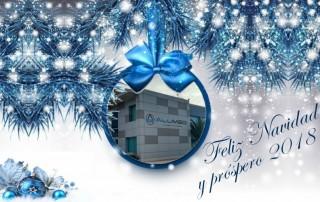 feliz navidad 2017 alumed sistemas alicante carpintería metálica