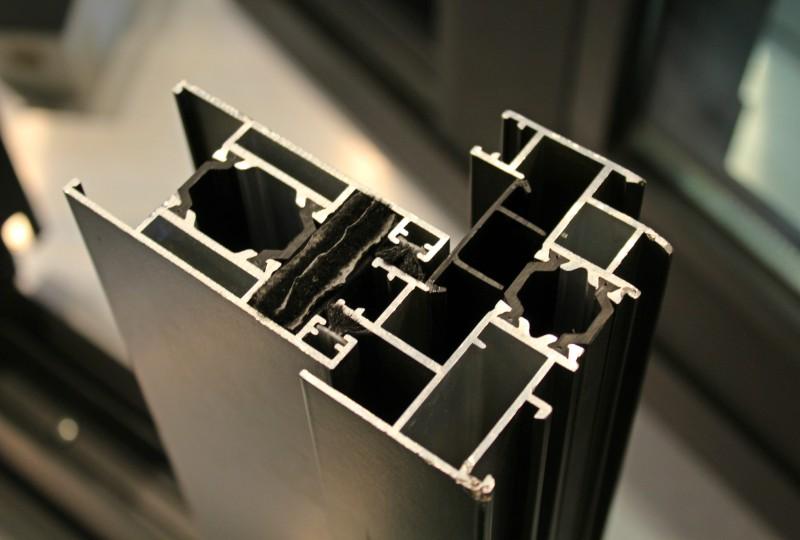 sistema de rotura de puente térmico sistemas alumed alicante carpintería metálica ventanas puertas perfil