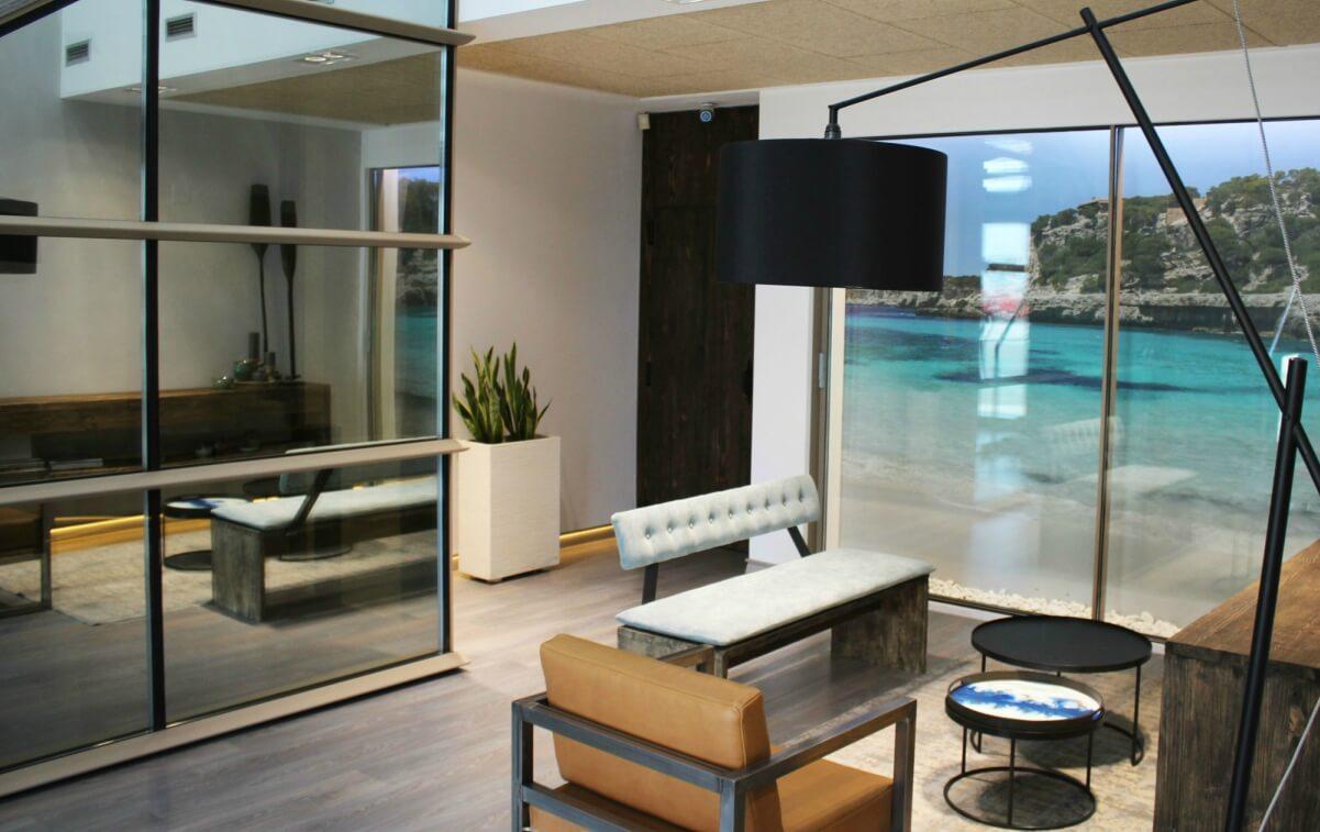 sistemas de aluminio para la construccion alumed aluminium systems alicante showroom 1 ventana