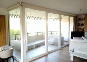 cerramiento salon separador terraza valencia alumed 120 rpt sistemas de aluminio para la construccion