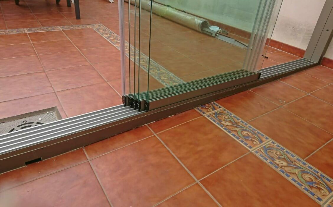 corredera de cristal correderas sistemas de aluminio para la construccion alumed alicante vivienda 1