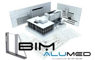 bim building information system ventanas de aluminio alumed aluminium systems alicante edificio