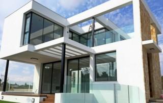 proyecto vivienda unifamiliar diseño moderno sistemas de aluminio para la-construcción alumed alicante 2