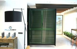 ventanas persianas mallorquinas alicante sistemas de aluminio para la construcción alumed showroom