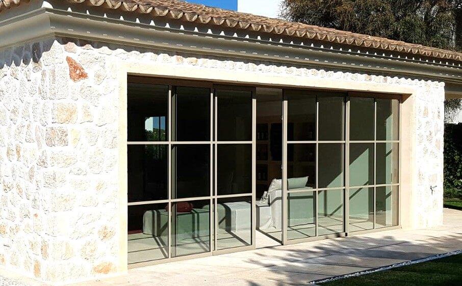 ventanas puertas alicante sistemas de aluminio para la construcción envolvente arquitectónica alumed corredera