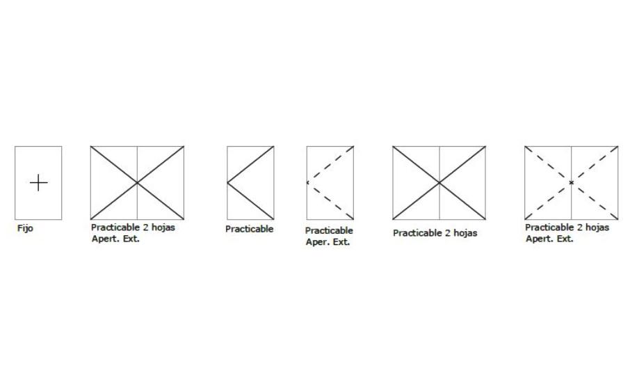 alumed 58 abisagradas opciones apertura sistemas de aluminio carpinteria arquitectura para la construccion alumed alicante