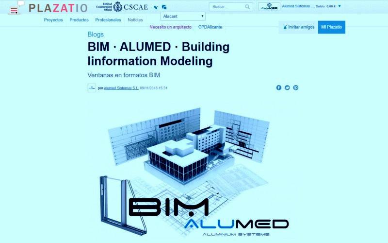 plazatio arquitectura ctaa cscae alumed aluminium systems alicante bim