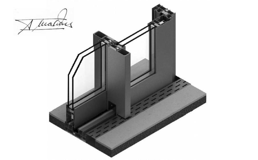 supra amc correderas producto sistemas de aluminio para la construccion alumed alicante