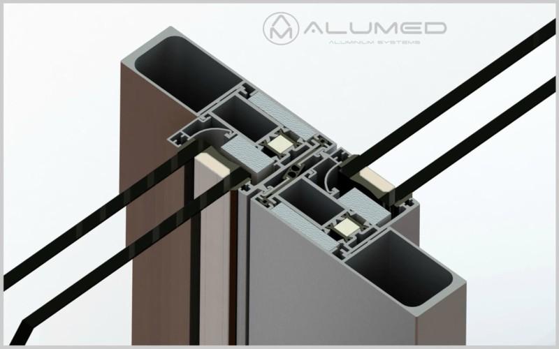 supra amc correderas producto sistemas de aluminio carpintería arquitectura para la construcción alumed alicante render2