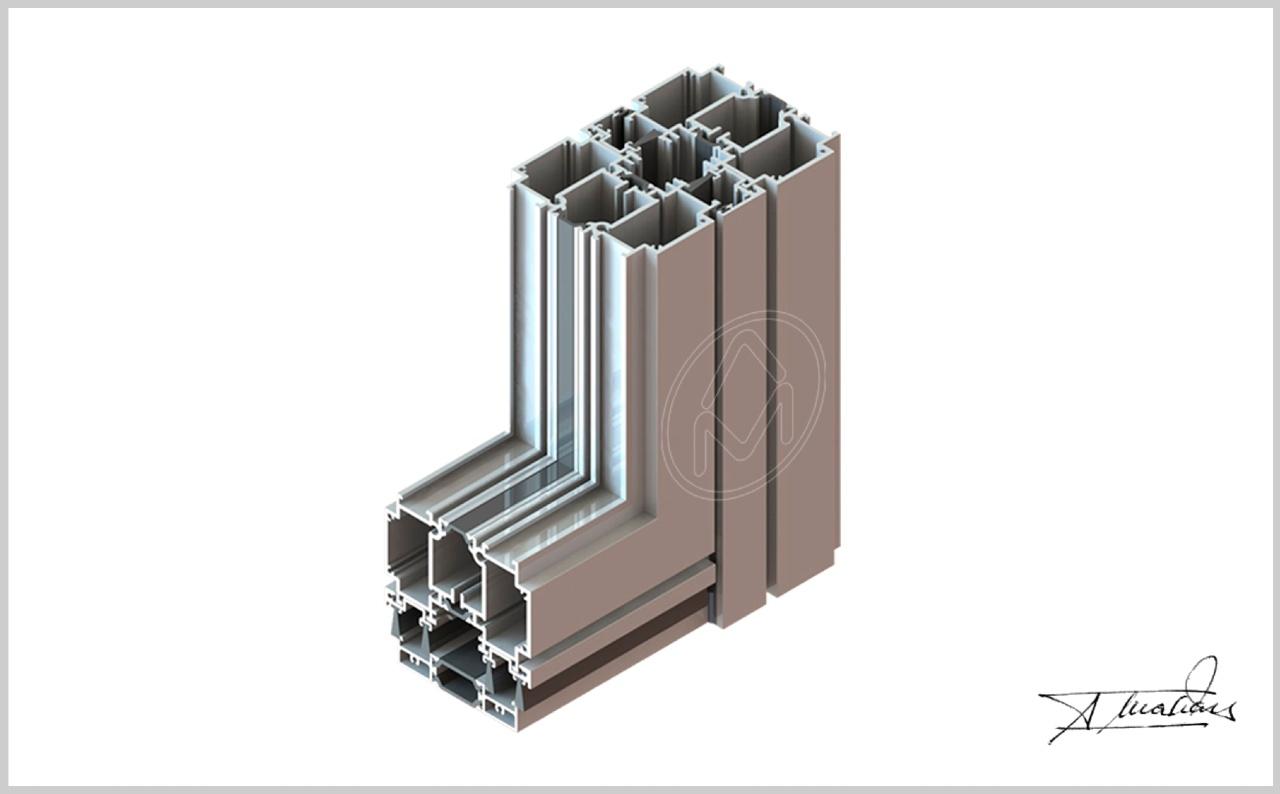 simetrika amc abisagradas puerta pivotante producto sistemas de aluminio carpinteria arquitectura para la construccion alumed alicante